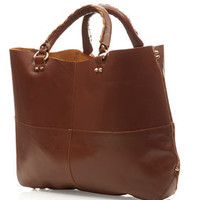 Clean Leather Tote - New In This Week  - New In