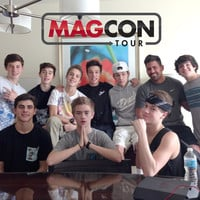 MAGCON Family Photo Poster | MAGCONTOUR