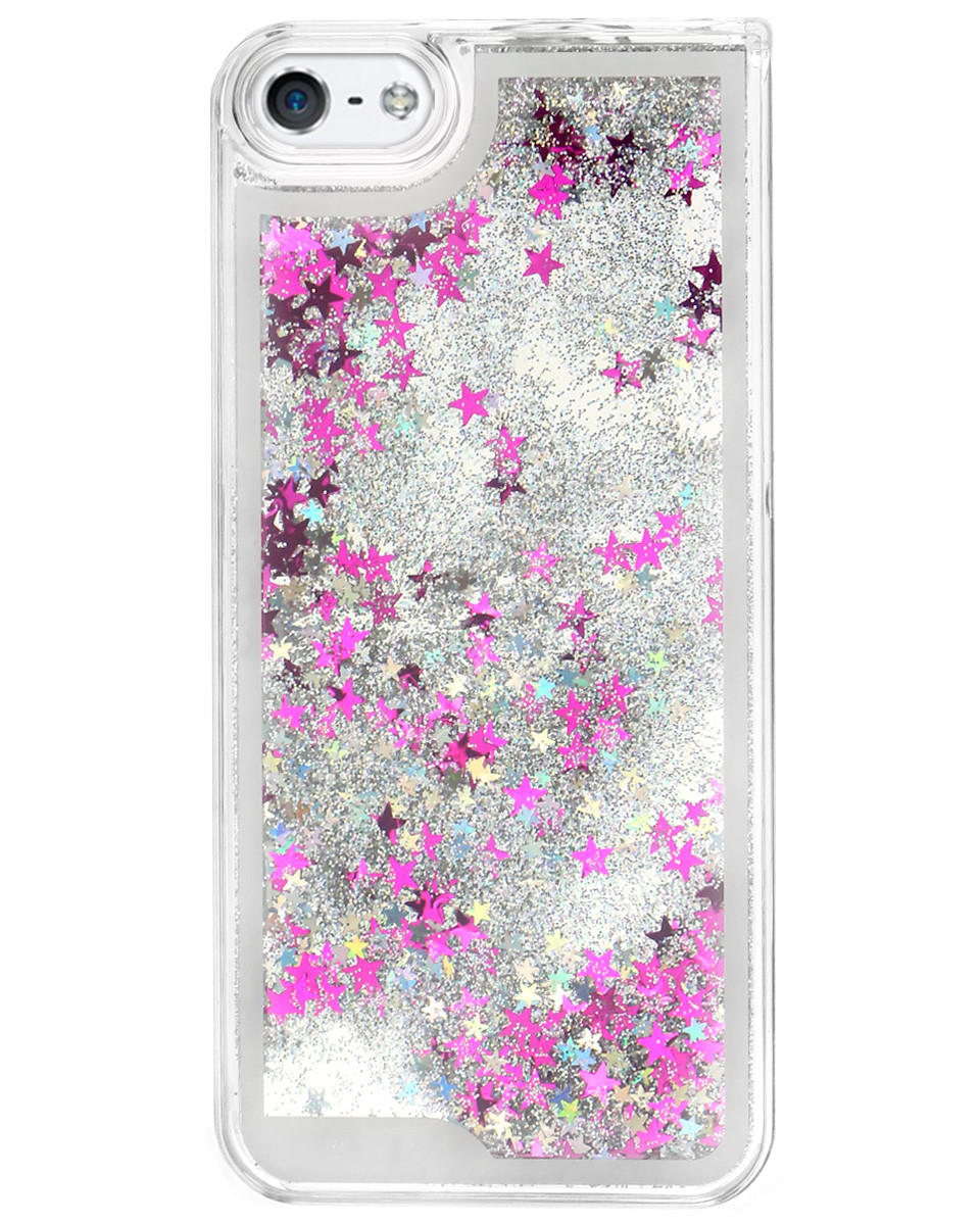 GLITTER WATERFALL IPHONE CASE from Shop Jeen 1c8a175694