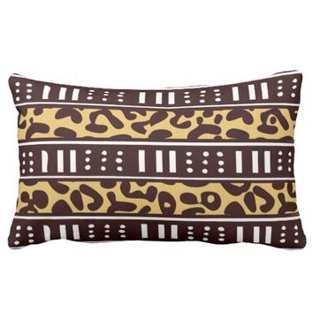African Pattern Mix Pillow