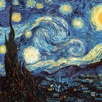 Starry Night by Vincent Van Gogh Poster Print