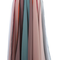 Multi Color A-Line Skirt | Moda Operandi