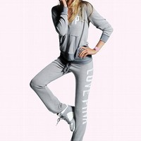 Cozy Banded Bottom Pant