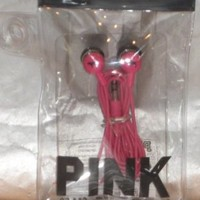 Victoria's Secret PINK Earbuds Hot Pink, NEW With Re-Usable Pouch!