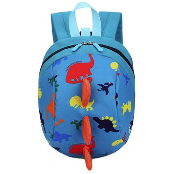 Toddler Backpack class Baby Boys Girls Dinosaur Pattern Animals Backpack Kids Toddler School Bag Cute Casual Bags mochilas infantil de personagem *15 AT_50_3