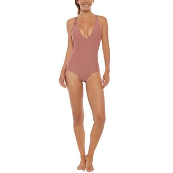 Elena Maillot One Piece Swimsuit - Spice