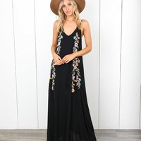 Endless Summer Embroidered Maxi Dress