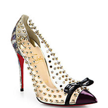 Christian Louboutin - Bille et Boule 100 from Saks | OH WOW!