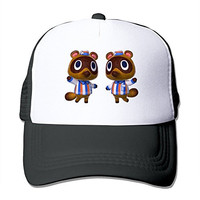 Custom Made Adult Unisex Tendo Y Nendo Animal Crossing New Leaf 100% Nylon Mesh Caps One Size Fits Most Adjustable Baseball Caps
