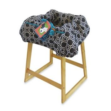 Boppy® Shopping Cart Cover in City Squares Black/White