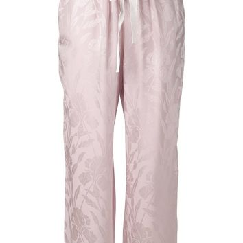 Nina Ricci floral trousers