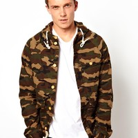 Bellfield Hooded Camo Jacket