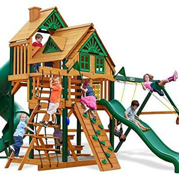 Gorillaplay Treehouse Swing Set