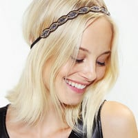 Urban Outfitters - Enchanted Leaf Headwrap