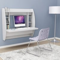 Waldorff's: Prepac Floating Desk with Storage $151.14