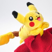 Kawaii NEW 10CM Approx. Pikachu Clip on Shoulder Design Decoration Plush Stuffed Toy doll