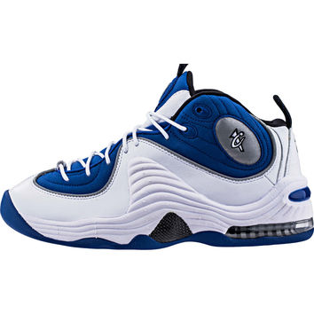 Nike Air Penny 2 (Mens) - College Blue/Black/Metallic Silver