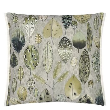 Designers Guild Tulsi Outdoor Sage Decorative Pillow
