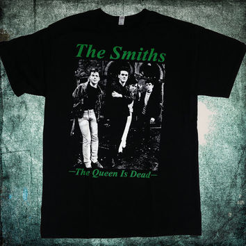 The Smiths The Queen Is Dead t shirt playera morrissey rock depeche mode punk new order 80's new wave unisex the smiths shirt band rare