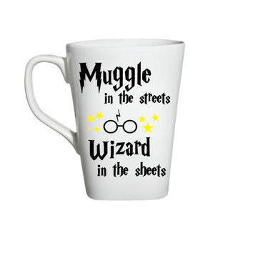 Harry Potter Inspired Coffee Mug, Muggle In The Streets, Funny Coffee Mug