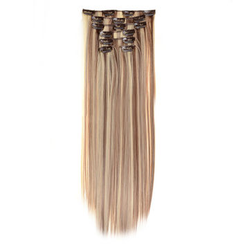 Hair Extension 7pcs Suit Wig 120g    8/613#