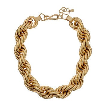 Robert Lee Morris Rope Chain Necklace Gold - Zappos.com Free Shipping BOTH Ways