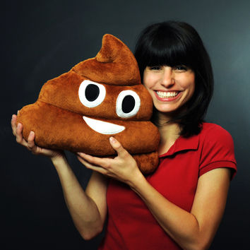 Emoji Pillows® - Poop