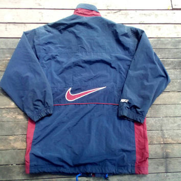 Authentic Nike swoosh big logo made in USA sport wear XL size