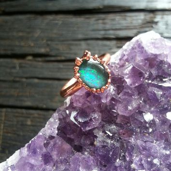 Opal Ring Size 5