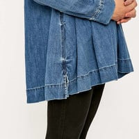 Free People Baby Blues Denim Tunic Top - Urban Outfitters