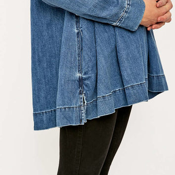 Free People Baby Blues Denim Tunic Top From Urban Outfitters