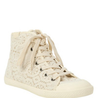 Volatile Cream Kool Sneakers