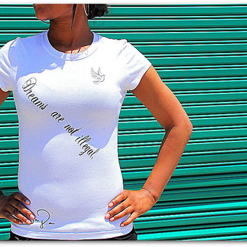 Inspirational Poetry t shirtcotton fitted by KDJinpires on Etsy