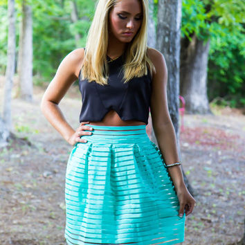 Mermaids and Mint Skirt - Final Sale