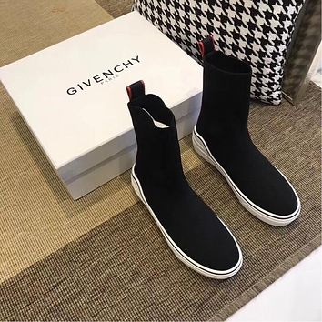Givenchy George V Mid Sock Sneaker Bh000th01q | Best Deal Online