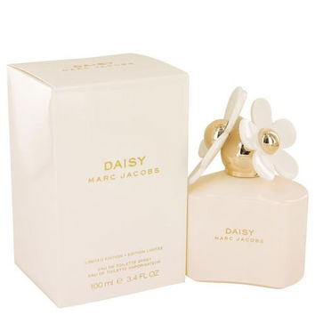 Daisy by Marc Jacobs Eau De Toilette Spray (Limited Edition White Bottle) 3.4 oz (Women)