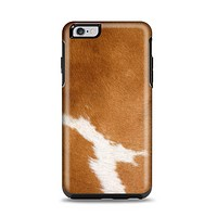 The Real Brown Cow Coat Texture Apple iPhone 6 Plus Otterbox Symmetry Case Skin Set