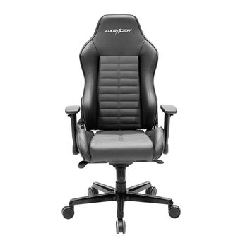 DXRacer DJ188N Full Grain Leather Ergonomic Executive Office Chair Luxury-Black