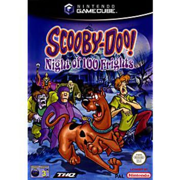 Scooby Doo Night of 100 Frights Gamecube Game
