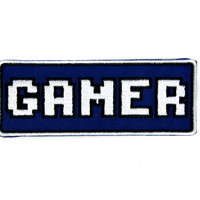Gamer Patch Iron on Applique Alternative Clothing