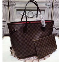 LV two piece  a set handbag and purse wallet  three colors bags hot style items