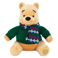 Winnie the Pooh Plush - Holiday - Medium - 12''