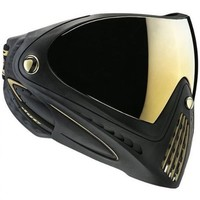 Dye Paintball Precision I4 Thermal Paintball Goggle - Black & Gold