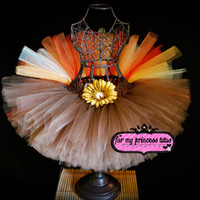 Turkey Tutu - newborn tutu, infant tutu, baby tutu, toddler tutu, Thanksgiving tutu, Autumn tutu, Fall tutu, dress up tutu, birthday tutu