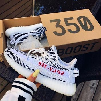 PEAPNO ADIDAS Yeezy Boost 350 V2 Women Fashion Running Sneakers Sport Shoes