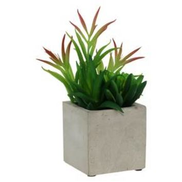 Artificial Succulent in Cement Pot - Medium - Threshold™