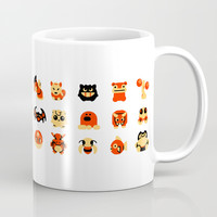 The Boys Are Back In Town Coffee Mug by Paperbeatsscissors