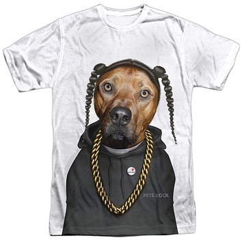 Adult Pets Rock/Rap T Shirt
