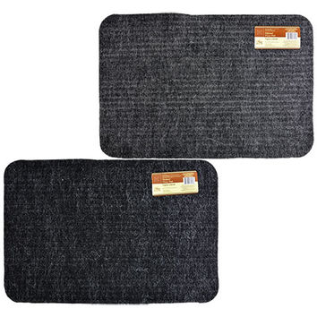 Bulk Home Collection Multi-Purpose Gray Floor Mats at DollarTree.com