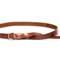 No. 259 Floppy Tail Belt, Tan - Billykirk